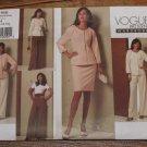 Vogue V1166 Size 6-8-10-12 Misses Wardrobe Jacket, Top, Skirt & Pants Pattern UNCUT FREE SHIPPING