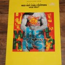 Red Hot Chili Peppers Best Of What Hits? Guitar Song Book