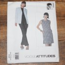 Vogue 2112 Isaac Mizrahi Misses Petite Jacket, Dress and Pants Pattern Size 8-12 UNCUT FREE SHIPPING