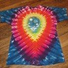 VINTAGE Grateful Dead 25 Years Dead Space Your Face RARE Tie Dye 1990 Size XL