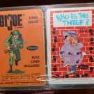 GI Joe Hasbro 1965 Whitman Card Game Complete Who is the Theif?game