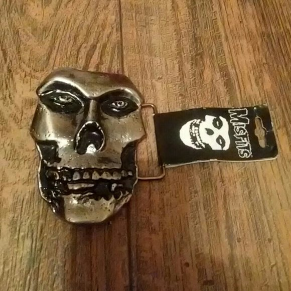 Free Shipping The Misfits Belt Buckle Die Cut 3 D Classic