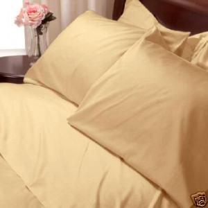 New   Savannah Luxury 1500 tc  Full Size Size sheets Gold