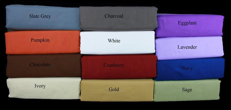 New Savannah Luxury1500 tc  King Sizes sheets Ivory