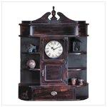 Heirloom Clock Curio Cabinet
