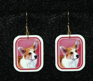 Welch Corgi Jewelry - Handmade Earrings