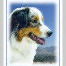 6 Australian Shepherd Note or Greeting Cards