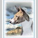 6 Basenji Note or Greeting Cards