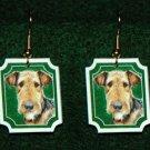 Airedale Terrier Jewelry Earrings Handmade
