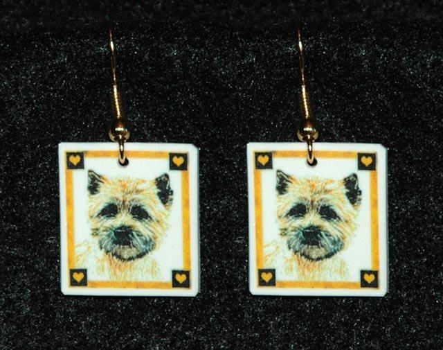 Cairn Terrier Earrings Jewelry