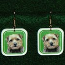 Norfolk Terrier Puppy Earrings Jewelry