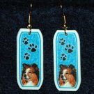 Sheltie Shetland Sheepdog Earrings Jewelry Handmade
