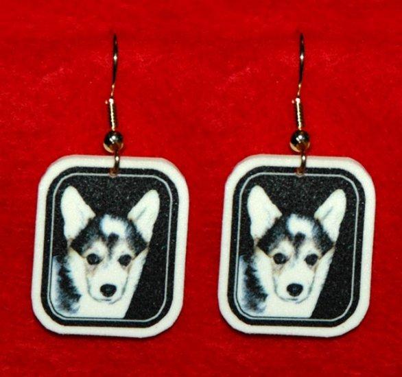 Welch Corgi Jewelry Earrings Handmade