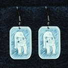 Polar Bear Bears Earrings Handmade