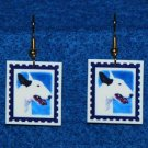 Bull Terrier Jewelry Earrings Handmade