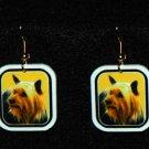 Silky Terrier Jewelry Earrings Handmade