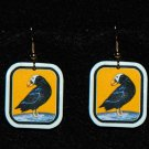 Puffin Earrings - Handmade