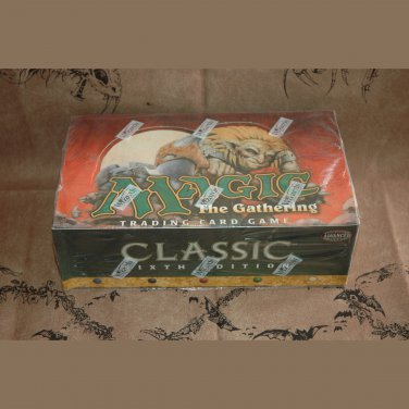 Classic Sixth Edition Booster Box Magic The Gathering