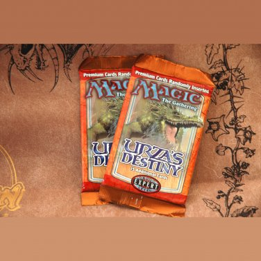Urza's Destiny Two Booster Packs  Magic The Gathering