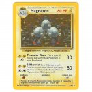 Pokemon   Magneton Holofoil  ~ Base Set ~Unlimited ~ Never Played Near Mint/Mint NM/M