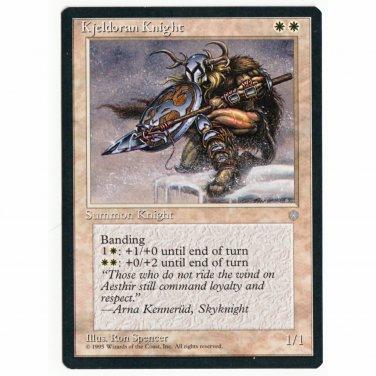 Kjeldoran Knight NM Ice Age Magic The Gathering MTG