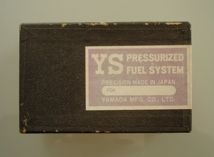 YS Pressurized Fuel System for Enya 60 engine