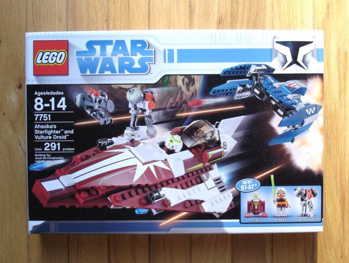 LEGO Ahsoka's Starfighter and Vulture Droid 7751 NEW