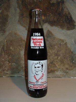 Coca Cola National Autism Week bottle