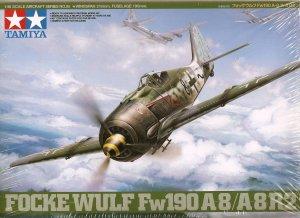 Tamiya Focke Wulf Fw190 A8/A8R2 1/48 Scale NEW