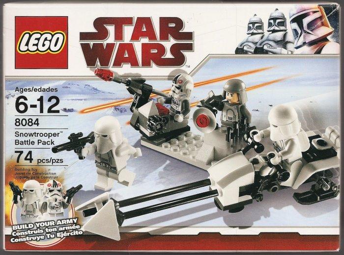 LEGO Star Wars Snowtrooper Battle Pack 8084 NEW