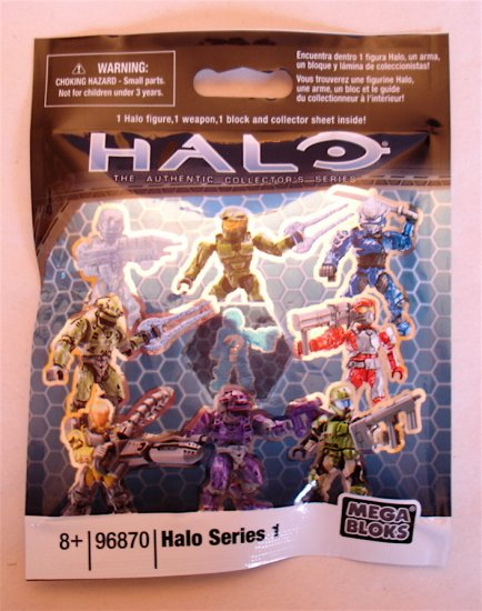 MEGA BLOKS Halo Series 1 Pack 96870 NEW