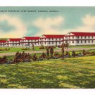 Vintage Camp Gordon Barracks Augusta Georgia Postcard