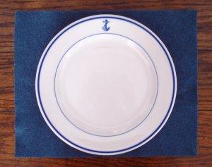 U.S. Navy China Dinner Plate 9 inch