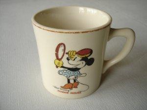 Vintage Disney Minnie Mouse Cup
