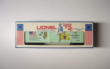 Lionel Spirit of 76 New Jersey Boxcar NEW