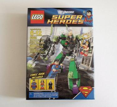 LEGO DC Universe Super Heroes Superman vs Power Armor Lex 6862 NEW