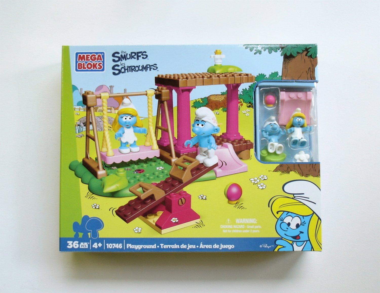 MEGA BLOKS The Smurfs Playground 10746 NEW
