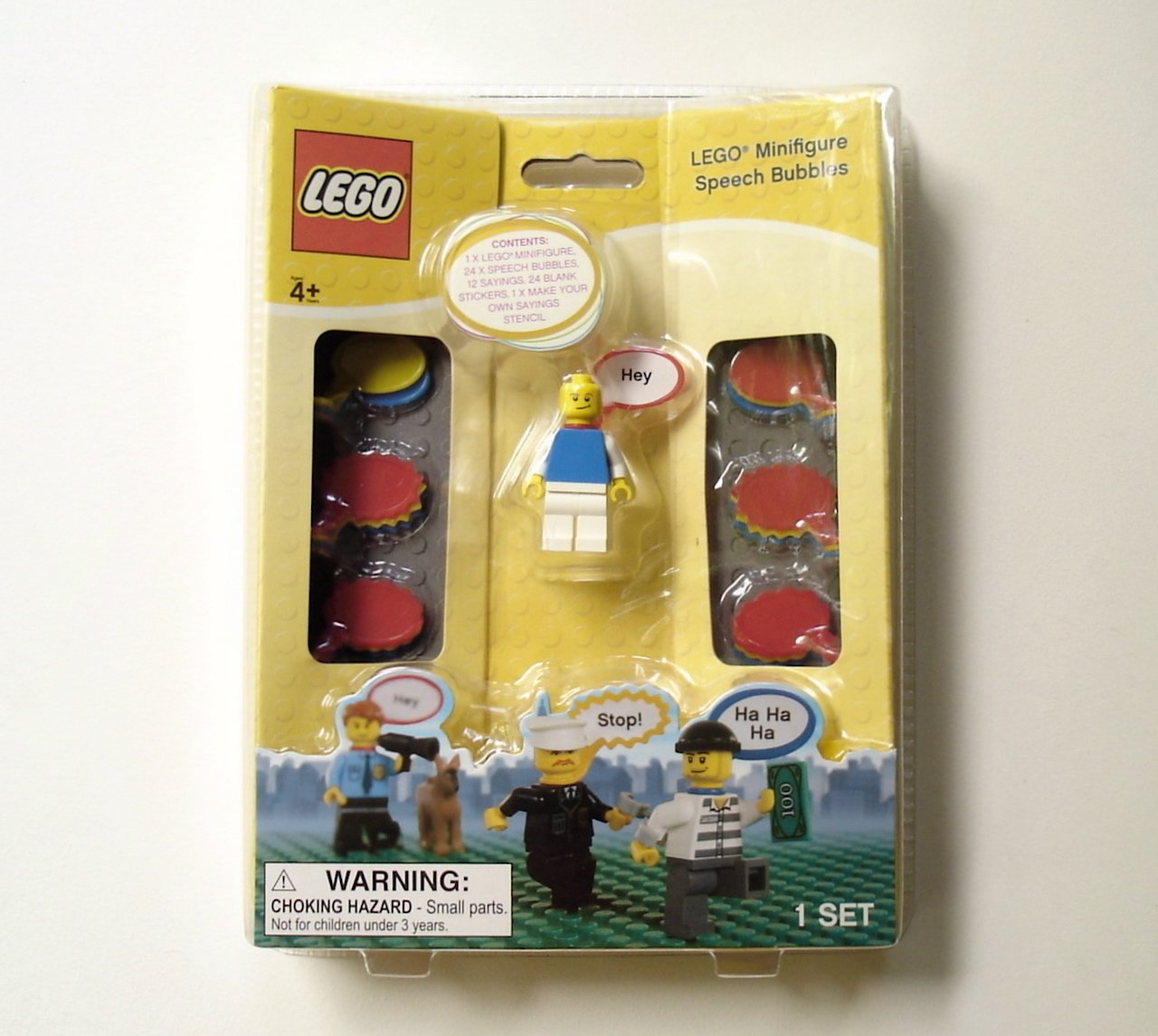 LEGO  Minifigure Speech Bubbles