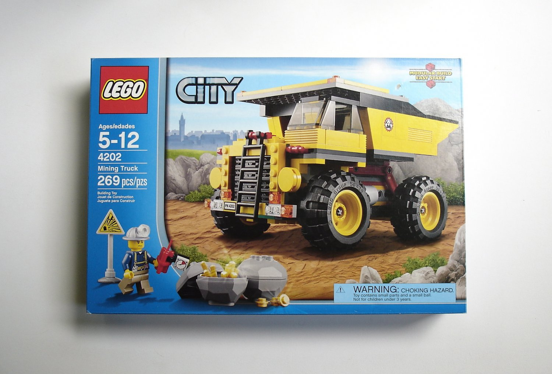 LEGO City Mining Truck 4202 NEW