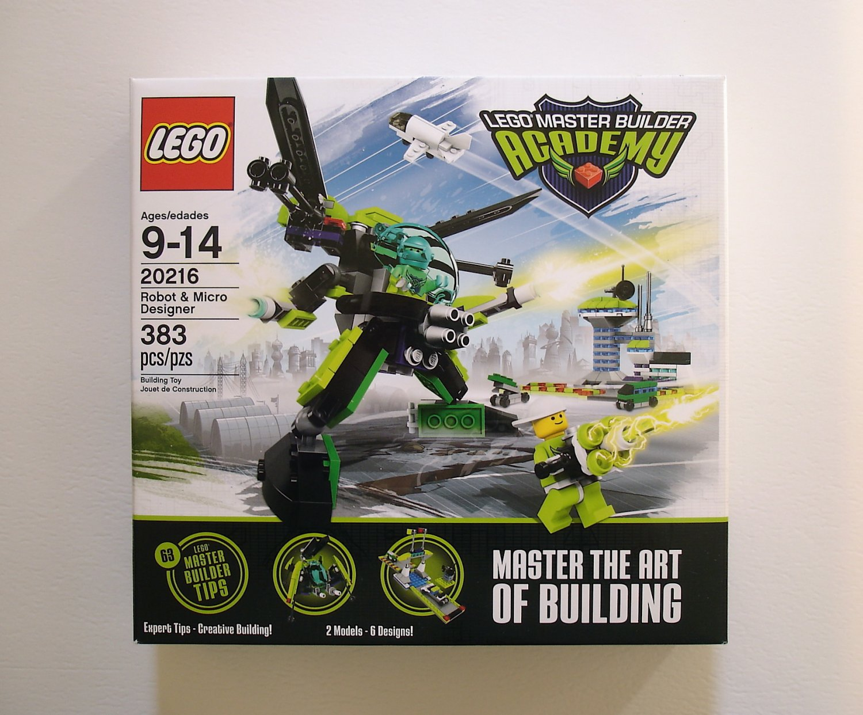 LEGO Master Builder Academy Robot & Micro Designer 20216 NEW