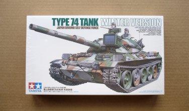Tamiya JGSDF Type 74 Tank Winter Version 1/35 Scale NEW