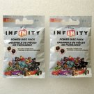 2 Disney Infinity Power Disc Packs Series 1 NEW