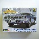 Revell '71 Plymouth HEMI Cuda 1/24 Scale 85-2943 NEW