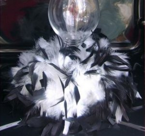 Fanciful Feather Wedding Table Centerpieces YOU CHOOSE THE COLOR