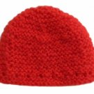 """18"""" Doll Clothes Knit Mohair Red Hat"""