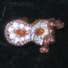 Swarovski Masquerade COLUMBINE PIN,  NEW
