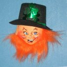 Annalee LEPRECHAUN PIN, HAND SIGNED tagged 2002