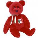 (12) OSITO Mexico TY Beanie Babies Bear DOZEN NEW MWT