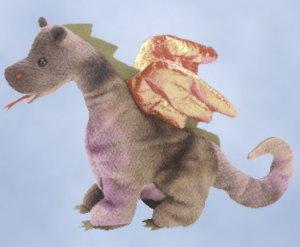 (12) SCORCH The Dragon TY Beanie Babies DOZEN NEW MWT