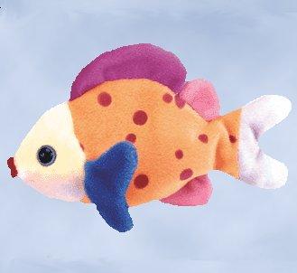 12 lips the fish ty beanie babies dozen new mwt for Fish beanie baby
